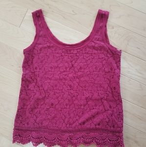 Mossimo pink/red tank top
